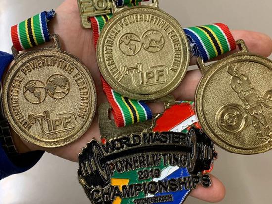 Ветераны пауэрлифтинга из ЯНАО завоевали три медали на чемпионате мира