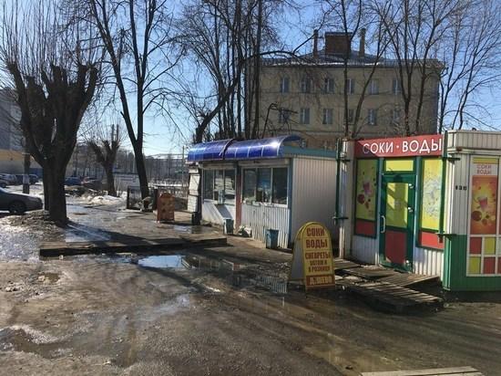 Торговые павильоны, киоски и палатки в Иваново будут выглядеть в едином стиле
