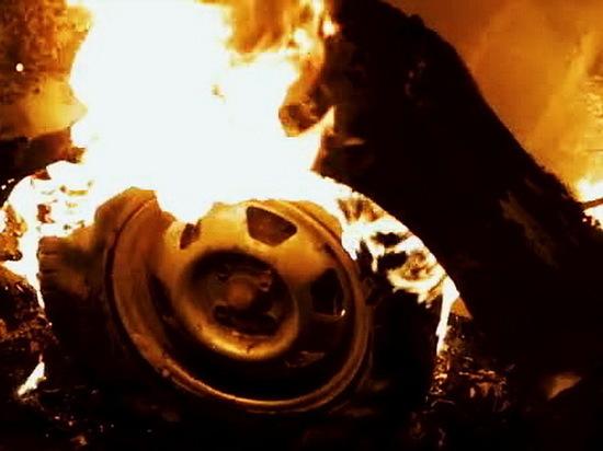 Ночью и утром в Воронеже горели автомобили