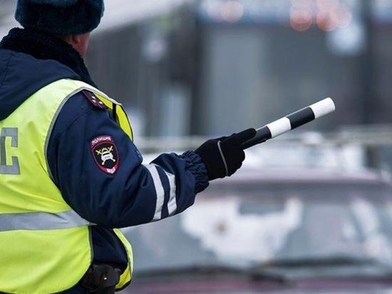 В Воронежской области водитель избил сотрудника ГИБДД