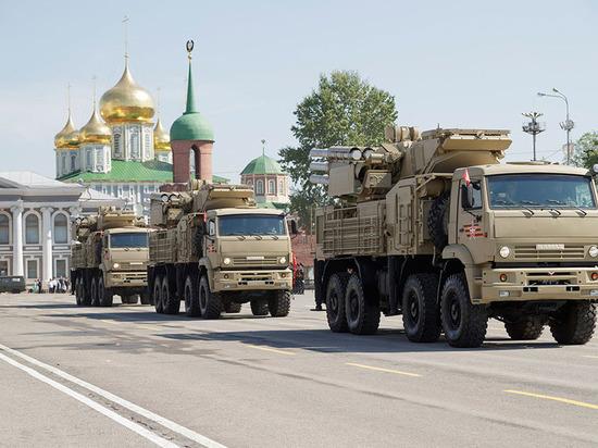 Сербия закупит у России зенитные ракетно-пушечные комплексы «Панцирь-С»