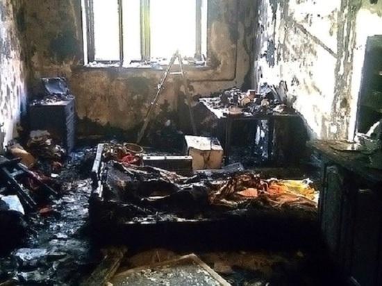 В Феодосии на пожаре погибла женщина