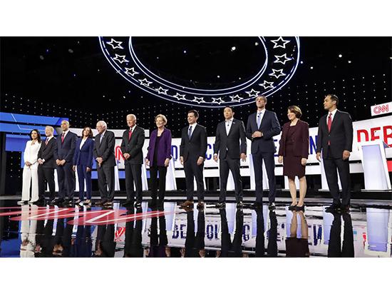 Дебаты: Уоррен вышла победителем, но уклонилась от вопроса о налогах