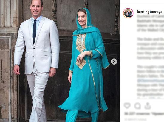 Самолет с принцем Уильямом и Кейт Миддлтон не смог сесть в Исламабаде