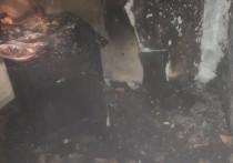В Бурятии жильцы дома попробовали растопить печь бензином