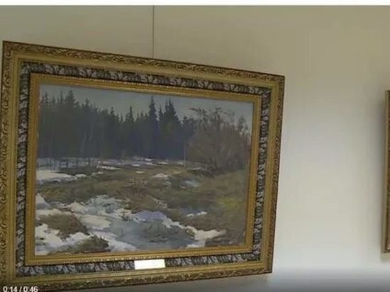 В Москве, в Совете Федерации открылась экспозиция картин священника из Луха Петра Кочанова