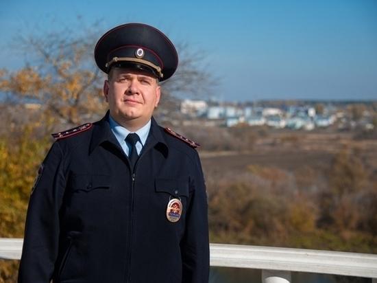 Народным участковым Воронежской области стал полицейский из Семилук