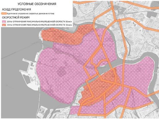 Власти Петербурга хотят снизить разрешенную в городе скорость до 50 км/ч