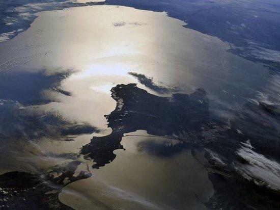 Крым сняли из космоса