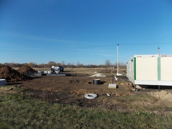 В Александро-Невском районе ведется строительство ФАПов
