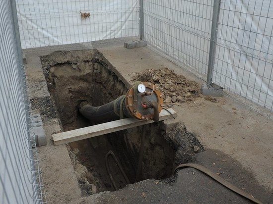 Коммунальщики в Краснодаре приступают к ремонту нового участка водопровода на Красной