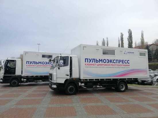 Больницы Стерлитамака и Октябрьского получили передвижные флюрографы