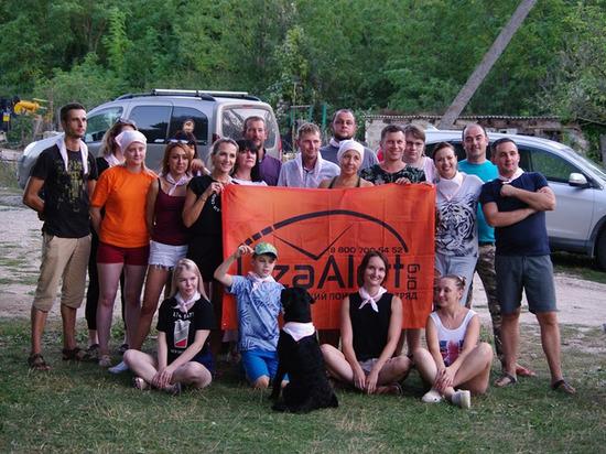 Как действует в Крыму поисковой отряд добровольцев