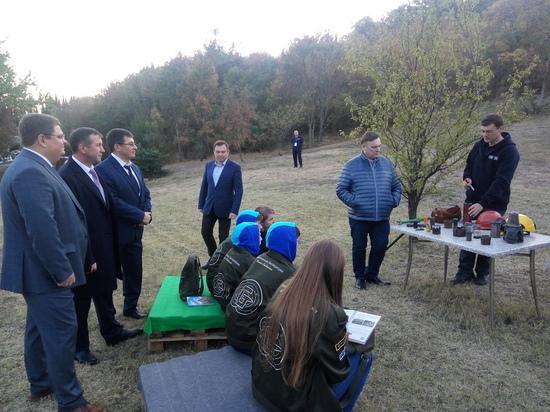 В Артеке завершился III Международный слет юных геологов