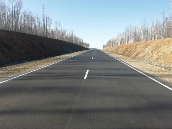 Новый участок дороги на Арахлей в обход болота открыли в Забайкалье