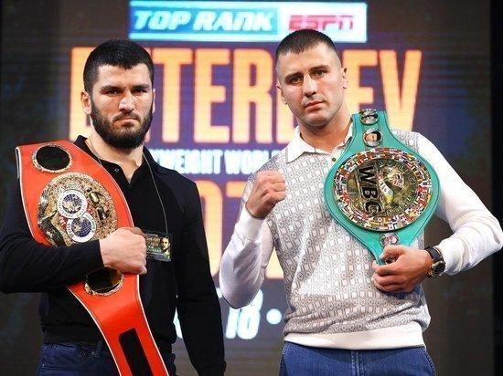 Российский боксер Бетербиев победил украинца Гвоздика