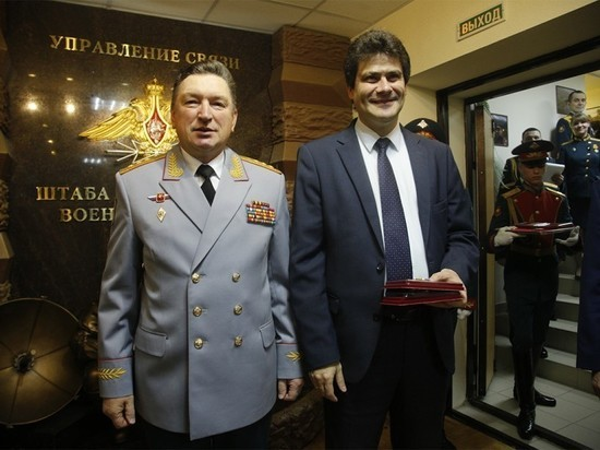 В Екатеринбурге открыли мемориал воинам-связистам