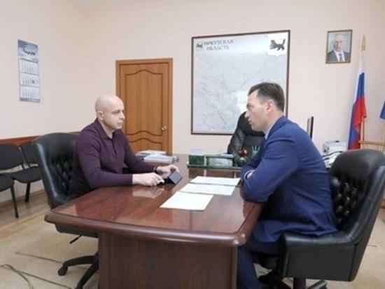 Сергей Сокол обсудил с руководителем ФАС по Иркутской области проект федерального закона о реорганизации системы ГУПов и МУПов