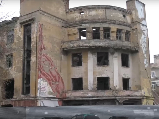 Разрушенное здание Медакадемии в Кемерове решили снести