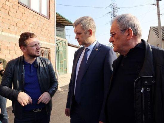 Владимир Иванов ознакомился с обновлением улиц в дагестанской столице