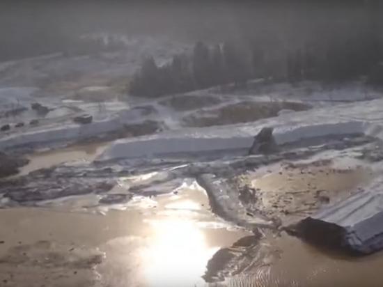 СК: в ходе прорыва в Красноярском крае уничтожено 5 дамб