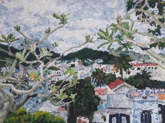 Картина юной кемеровчанки попала в Третьяковскую галерею
