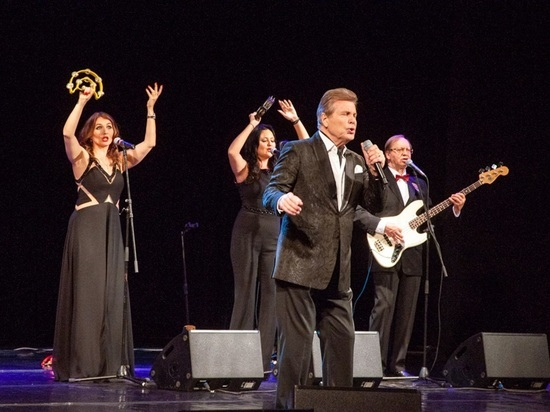 Концерт Льва Лещенко в Адыгее прошел при полном аншлаге