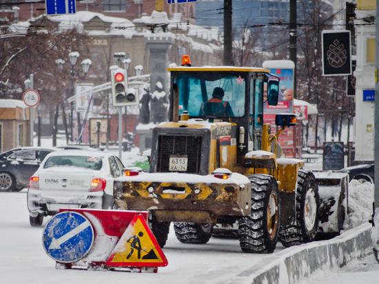Полиция возбудила административное дело из-за некачественной уборки снега в Челябинске