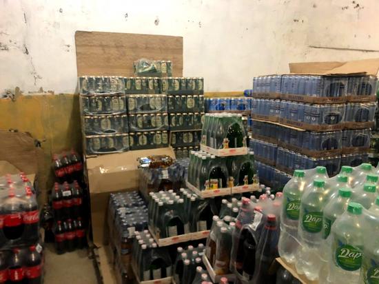 В Астраханской области уничтожат более 14 литров пива
