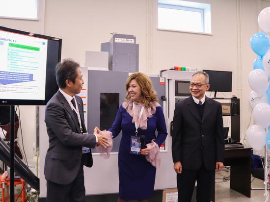На площадке ЦПК «Становление» открылся центр компетенций «Мицубиси Электрик»