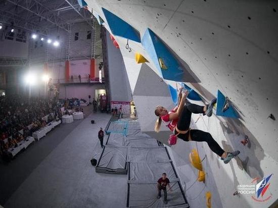 В Воронеже завершилось первенство Европы по скалолазанию