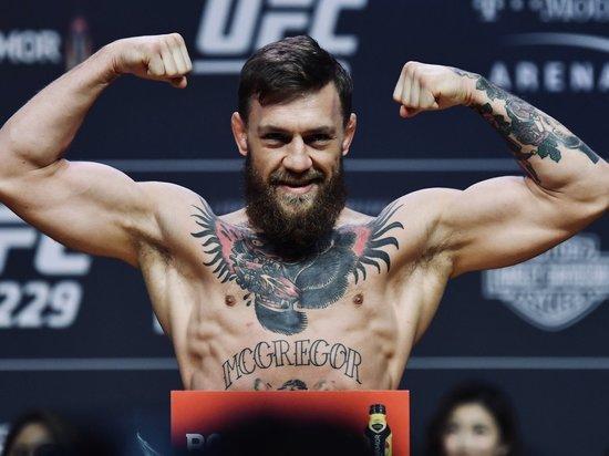 Конор Макгрегор объявил себя чемпионом UFC перед приездом в Москву