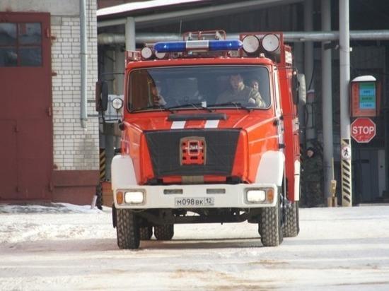 Неосторожность при курении привела к пожару в Йошкар-Оле