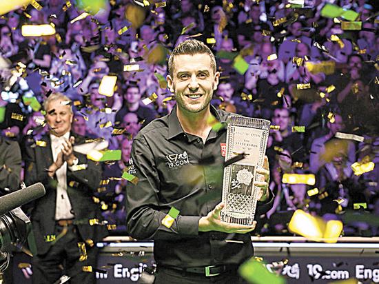 Трехкратный чемпион мира стал обладателем Кубка имени Стива Дэвиса