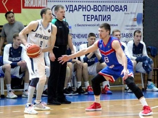 БК «Тамбов» вернулся с Алтая с проигрышем и победой