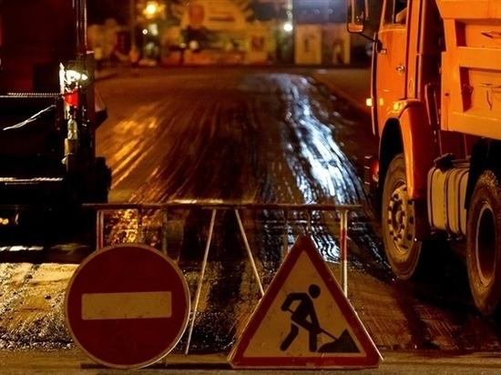 Дороги в Чите начнут ремонтировать ночью
