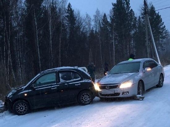 На одной улице в Иркутске в ДТП попало 11 машин