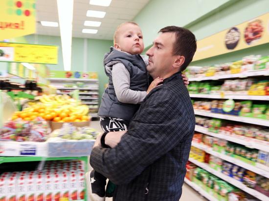 Подсчитано число российских семей с доходом только на еду