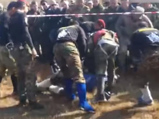 Опубликовано видео экзамена росгвардейца, обернувшегося для него гибелью