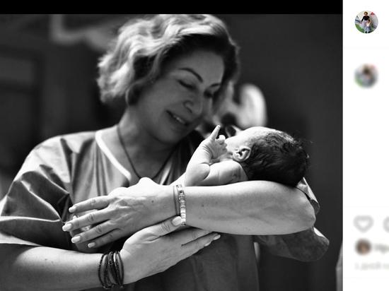 Мать Тимати набила тату в честь внука от Решетовой