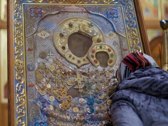 Пряжевская икона Божией Матери пребывает в Курске