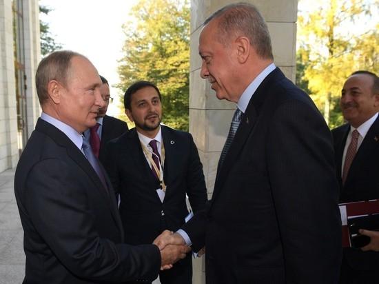 Путин в Сочи попытался расколоть Эрдогана