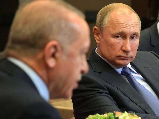 Путин и Эрдоган не прекращают переговоры шестой час