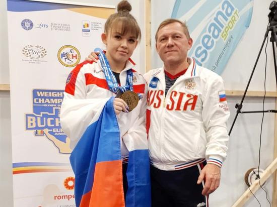 Чебоксарская студентка завоевала «золото» молодежного чемпионки Европы по тяжелой атлетике