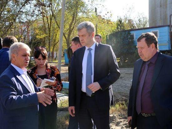 Владимир Иванов ознакомился с ходом работ на Кизлярщине