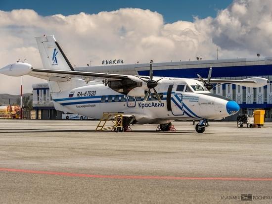 Количество рейсов из столицы Хакасии в столицу Красноярского края увеличится с 3 до 5 раз в неделю