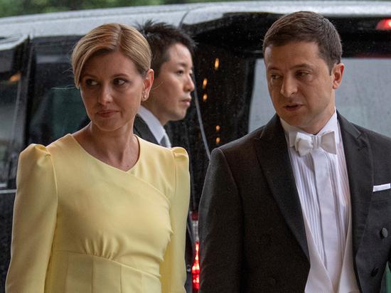 Жену Зеленского обвинили в неуважении к японскому императору из-за платья