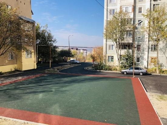 Ремонт дворов в Железноводске находится на финальной стадии