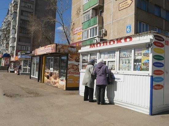 На территории Оренбурга работают «левые» ларьки