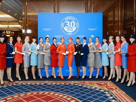 «Аэрофлот» отмечает юбилей вступления в IATA